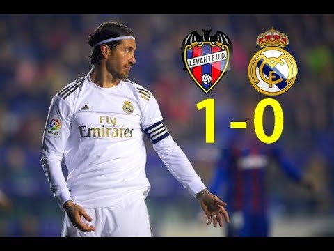 Levante 1 - 0 Real Madrid (Maç Özeti)