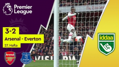 Arsenal - Everton (3-2) - Maç Özeti - Premier League 2019/20