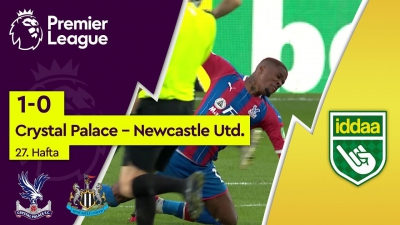 Crystal Palace - Newcastle United (1-0) - Maç Özeti - Premier League 2019/20