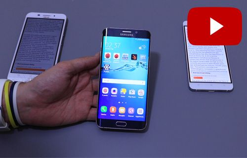 Samsung Galaxy S6 Edge+ Marsmallow vs Lollipop Kıyaslama Videosu