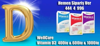 Wellcare D3 Vitamini